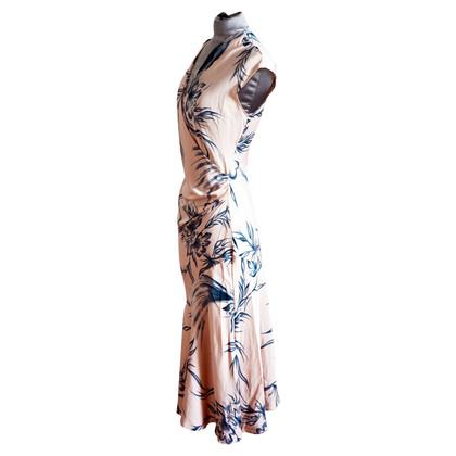 Diane von Furstenberg Uitlopende zijden jurk
