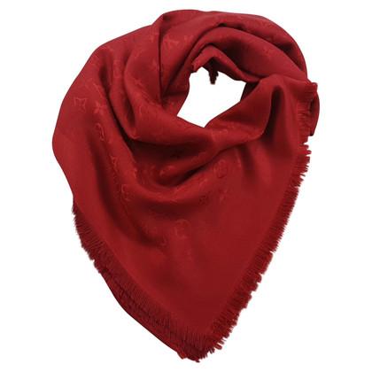 Louis Vuitton Sciarpa del monogramma in rosso