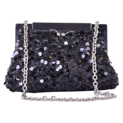 Dolce & Gabbana paillettes clutch