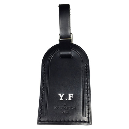 Louis Vuitton Adressanhänger aus Rindsleder