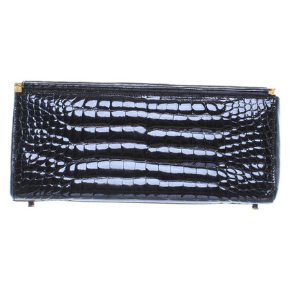 Aigner Clutch in Schwarz