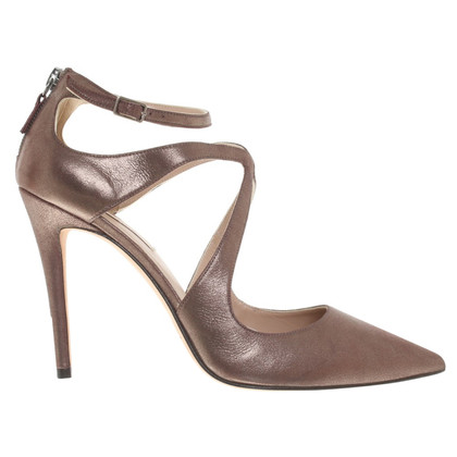Pura Lopez Pumps in Bronze-Metallic