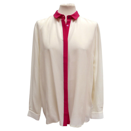 7 For All Mankind Silk blouse with Pink