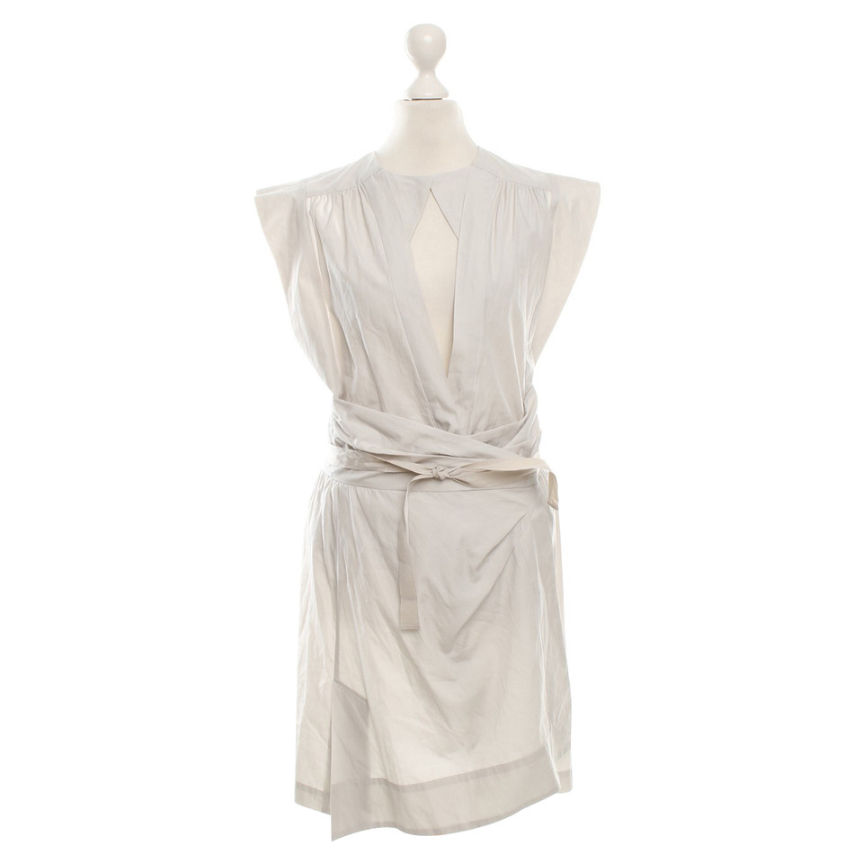 Isabel Marant Wrap dress in beige