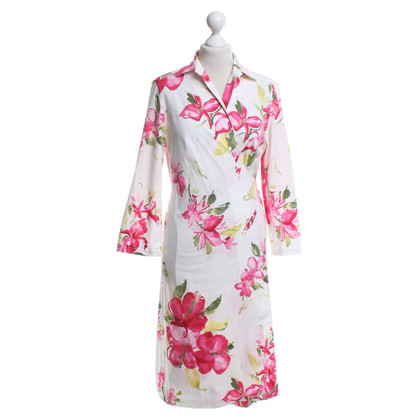 Rena Lange Wrap dress with a floral pattern