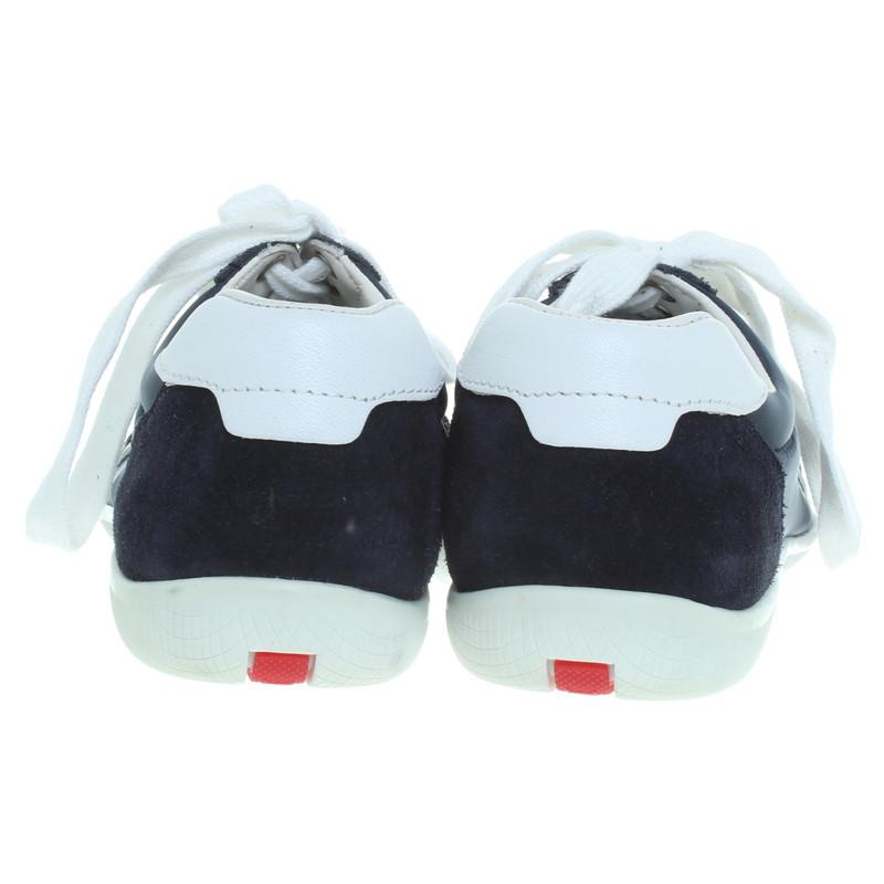 Prada Sneakers Blauw
