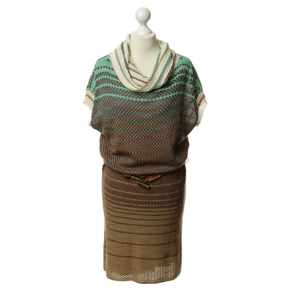 Missoni Turtleneck knit dress