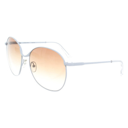 Linda Farrow White sunglasses