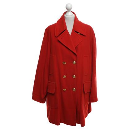 Hermès Mantel in Rot