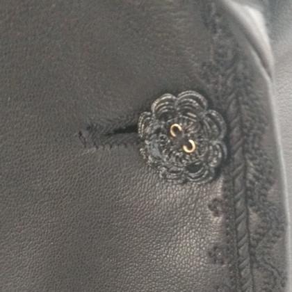 Escada leather jacket