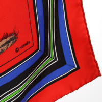 Hermès Silk scarf with pattern