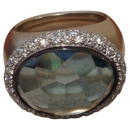 Pomellato Gold-colored ring with stone