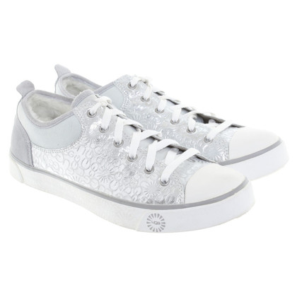 UGG Australia Sneakers with rabbit fur trim