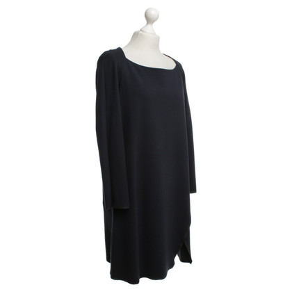 Cos Jersey jurk in donkerblauw