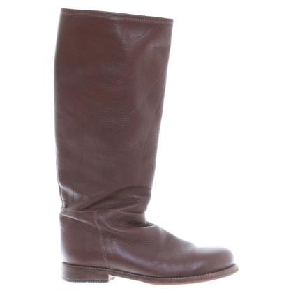 Max Mara Winter laarzen in bruin