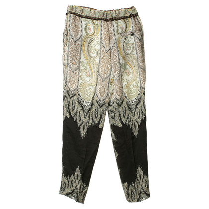 Etro Summer pants with print