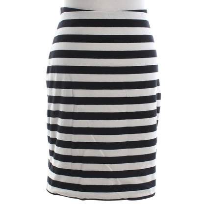 Whistles Jersey skirt with stripes
