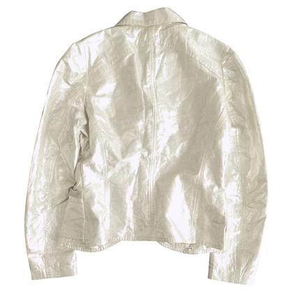 Dries van Noten Silver-colored blazer