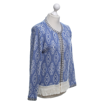 Rich & Royal Cardigan in tricolore