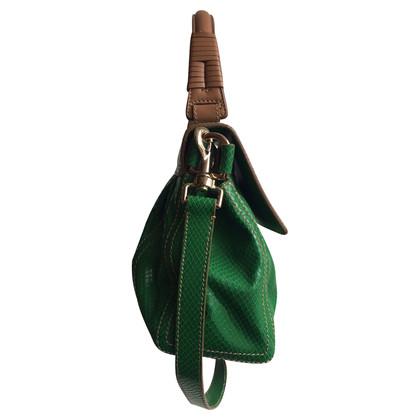 Escada Green Python Bag
