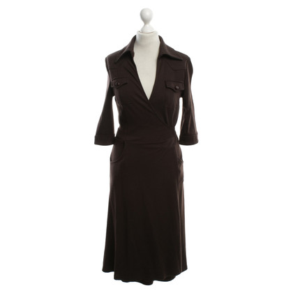 Diane von Furstenberg Wrap dress in brown