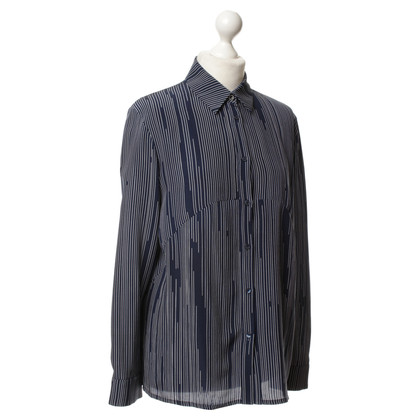 Kenzo Striped silk blouse