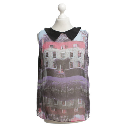 Moschino Cheap and Chic Top mit Fotoprint