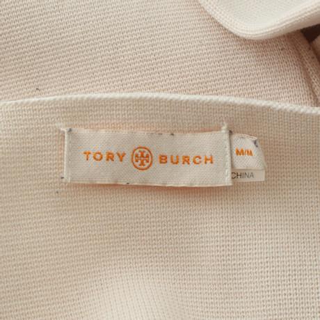 Billig Verkauf Blick Billig Verkauf Niedriger Preis Tory Burch Pullover mit Streifenmuster Beige Günstig Kaufen Große Überraschung Manchester Online Rabatt Billig ahhny22qO