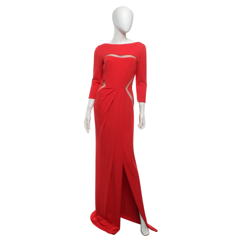 Cocktailkleid rot eng