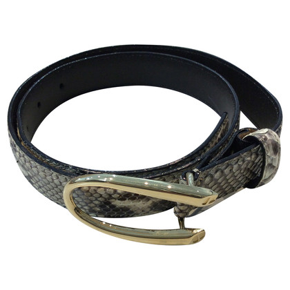 Aigner Python belt