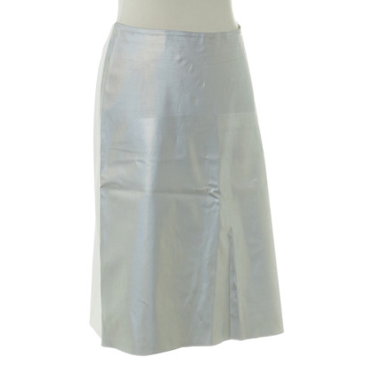 Jonathan Saunders skirt with metallic effect