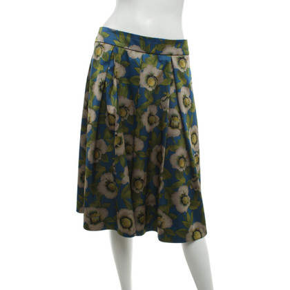 Marc Cain skirt with a floral pattern