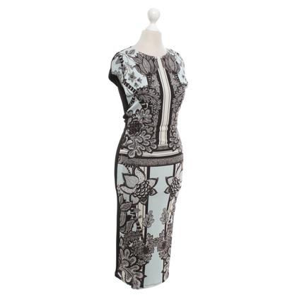 Roberto Cavalli Midi length dress with pattern