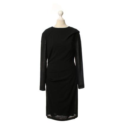 Talbot Runhof Lange mouwen jurk in zwart