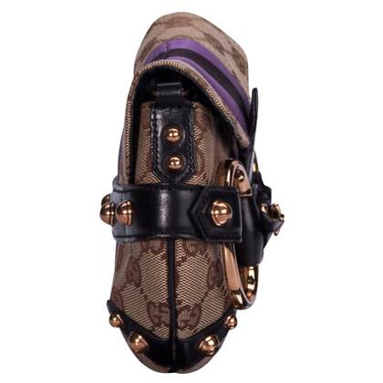 Gucci Borsa a tracolla con dettaglio morsetto