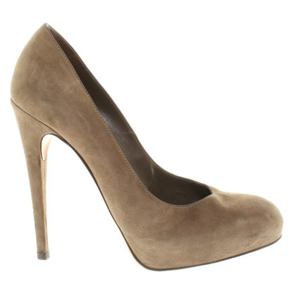 Gianvito Rossi Pumps in Oliv