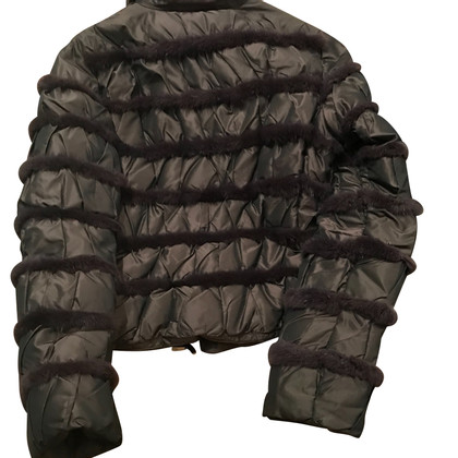 Moncler Steppjacke in Bordeaux