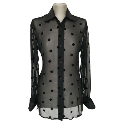 Ferre Blouse with velvet dots