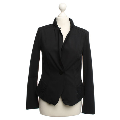 Marc Cain Black Blazer with mesh