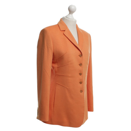 Nusco Long blazer in orange