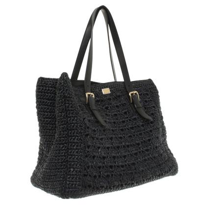 Dolce & Gabbana Handtasche aus Bast