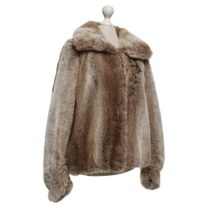 Chloé Jacket in rabbit fur look