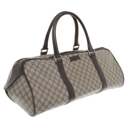Gucci Reizen Bag met Guccissima patroon
