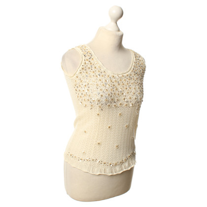 D&G top in cream