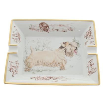 Hermès Ashtray with animal motif