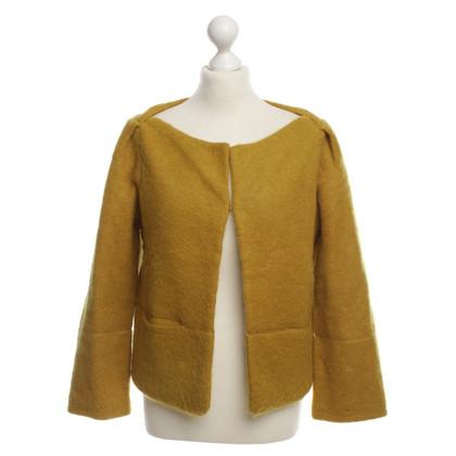 Diane von Furstenberg Giacca in giallo senape