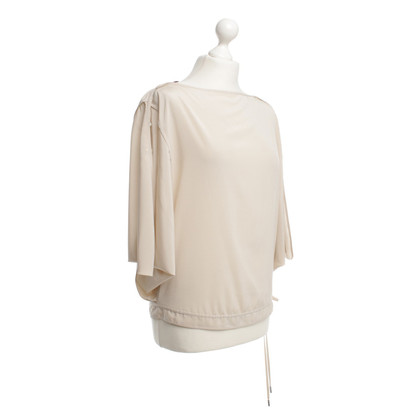 Laurèl Silk blouse in Nude