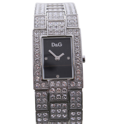 D&G Tono argento orologio da polso