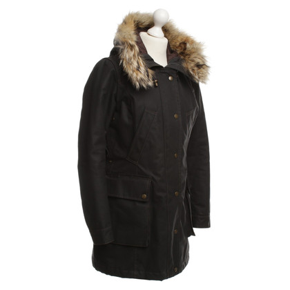 Belstaff Parka with fur hood