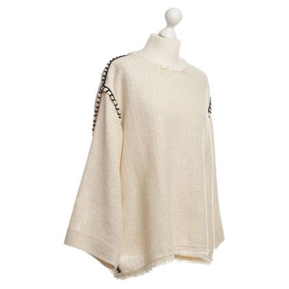 Isabel Marant Baumwoll-Pullover in Creme